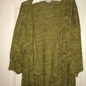 LuLaRoe Sweaters - Long cardigan with waterfall hem